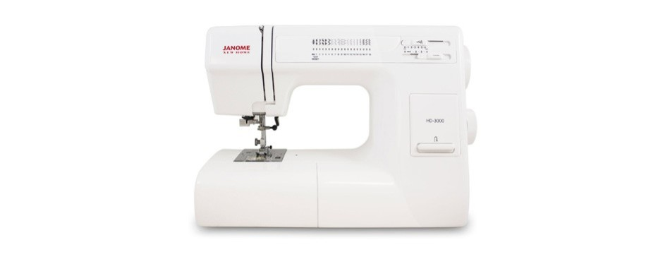 janome hd3000 heavy-duty sewing machine