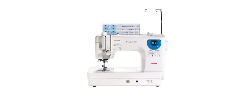 janome professional heavy-duty computerized quilting sewing machine