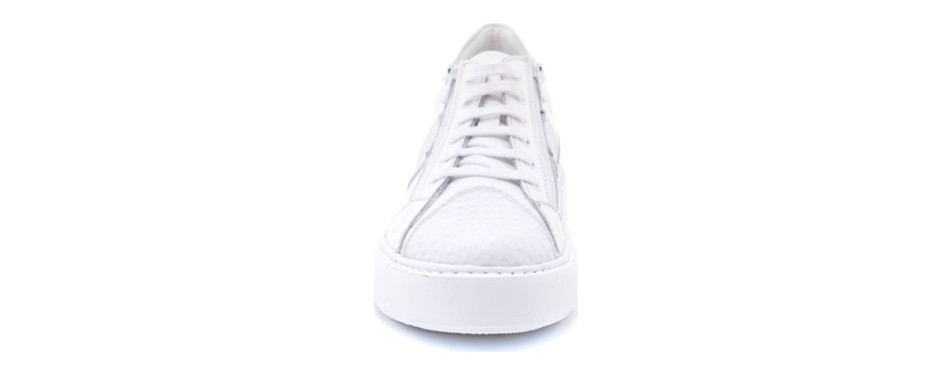jared lang, justin perforated sneaker