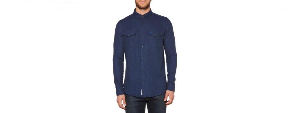 jaspé stretch sport flannel shirt