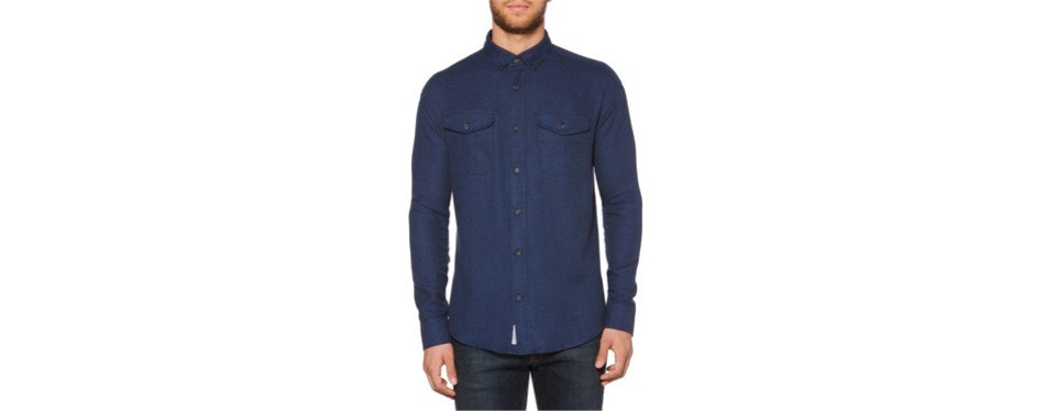 jaspé stretch sport flannel shirt