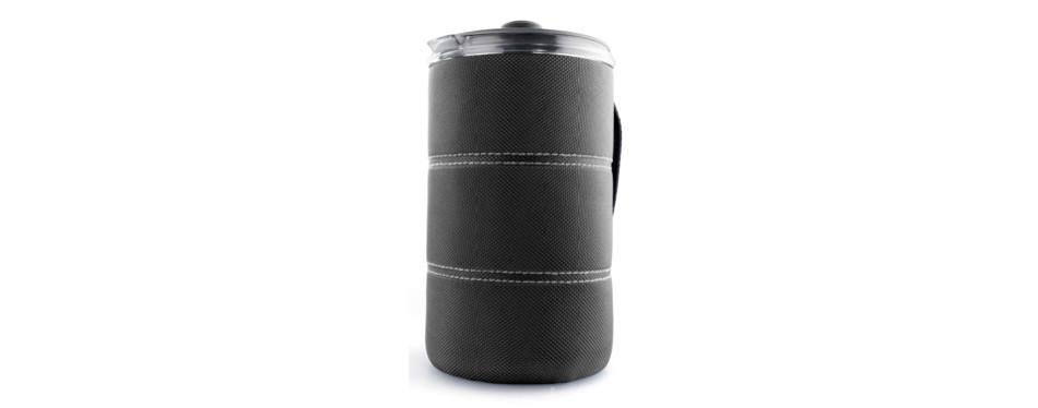 java press durable bpa free coffee cup