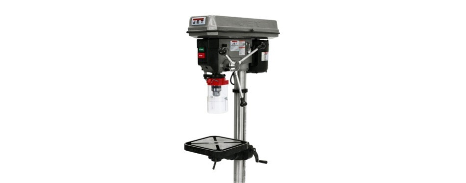 "jet 15"" 3/4 horsepower 115-volt floor model drill press"
