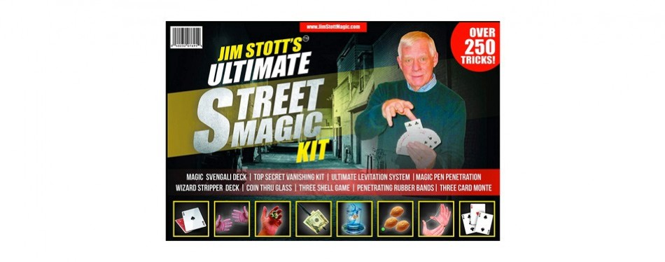 jim stott's 'ultimate street magic kit