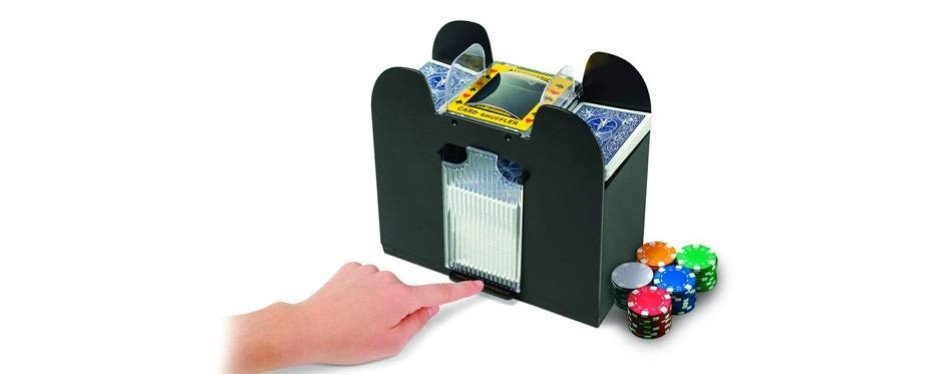 jobar 6-deck international automatic card shuffler