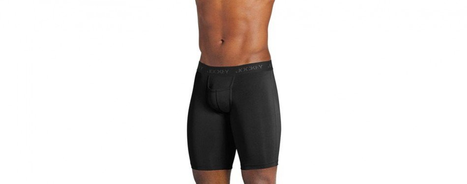 jockey men's sport microfiber midway brief