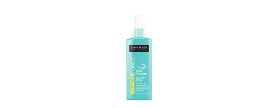 john frieda beach blonde sea waves salt spray