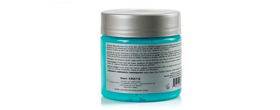johnny b. mode styling hair gel for men