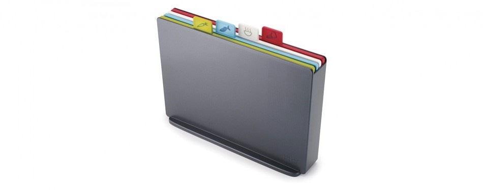 joseph joseph index plastic cutting board set