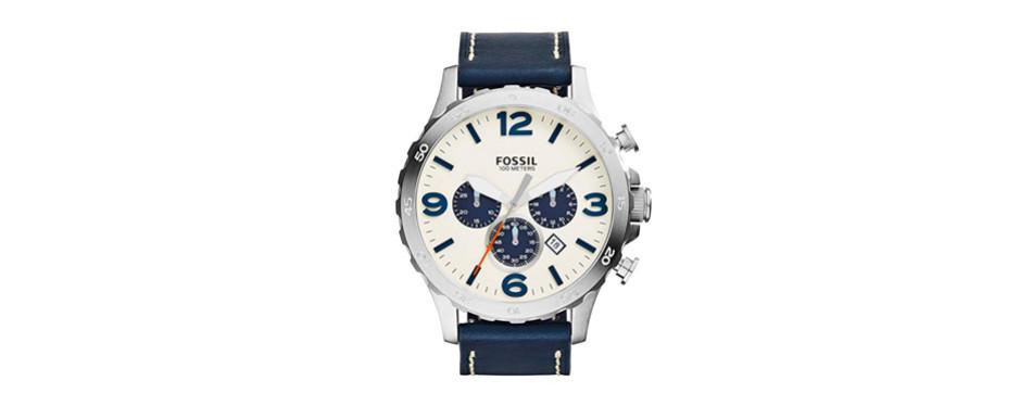jr nate chronograph watch