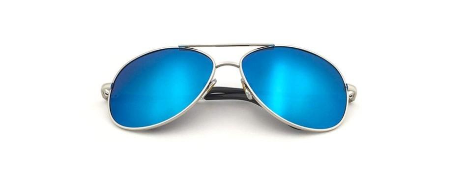 j&s premium military style aviator polarized sunglasses