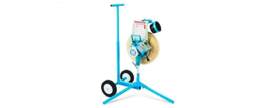 jugs softball pitching machine with cart