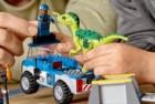 juniors raptor rescue truck lego jurassic world set