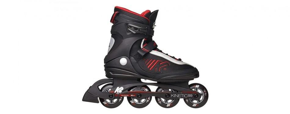 k2 skate men's kinetic 80 inline skates