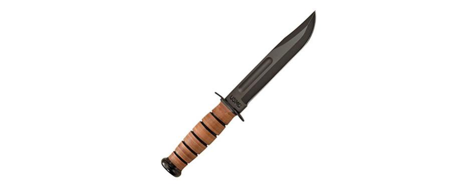 ka-bar full-sized us marine corps fighting knife
