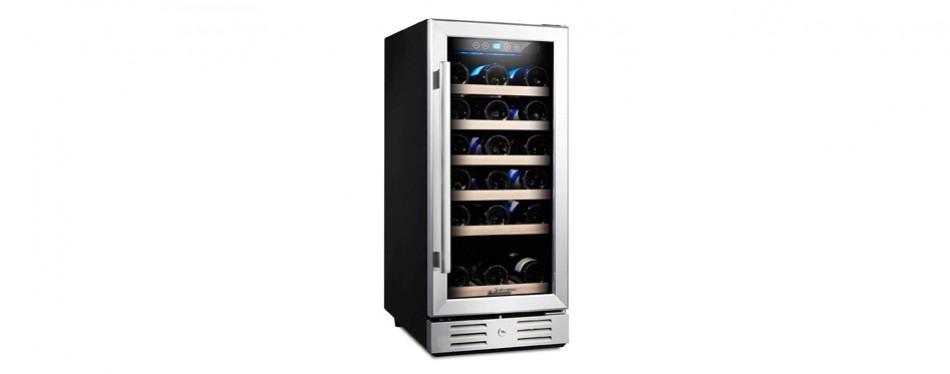 kalamera freestanding stainless steel wine cooler