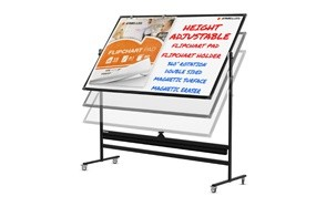 kamelleo mobile whiteboard with stand