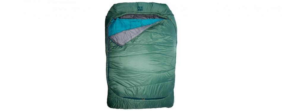 kelty tru comfort doublewide sleeping bag