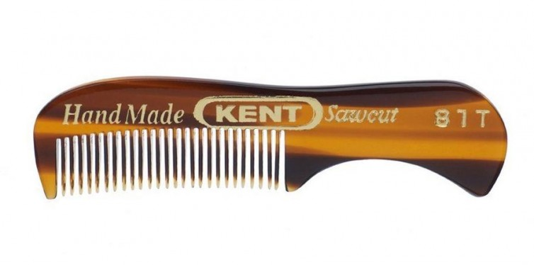 Kent Hand Made Beard and Moustache Comb