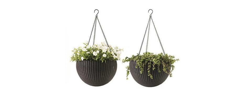 keter 221486 hanging planter set