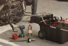 keter masterloader portable plastic rolling tool box