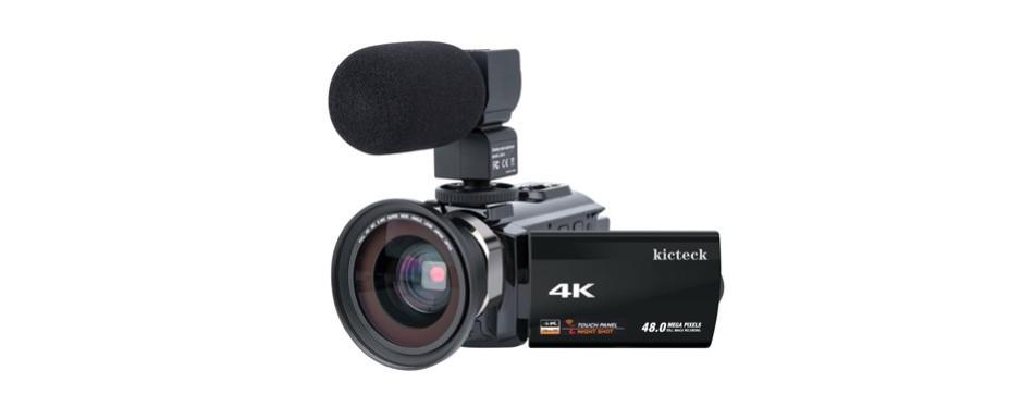 kicteck 4k video camera