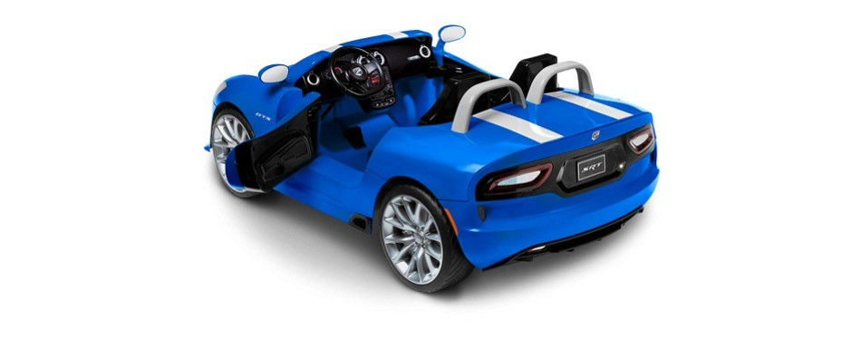kid trax dodge viper srt 12v ride on