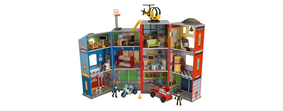 kidkraft everyday heroes play set