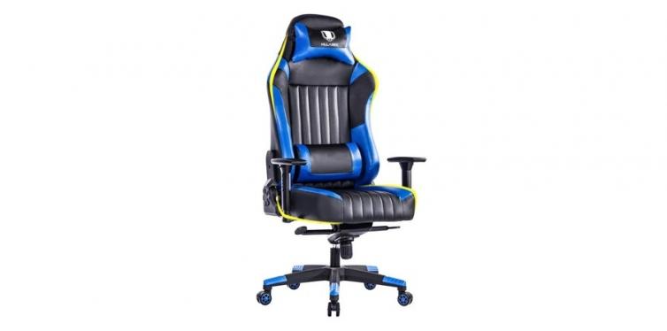 Killabee Big & Tall Racing Leather Gaming Chair