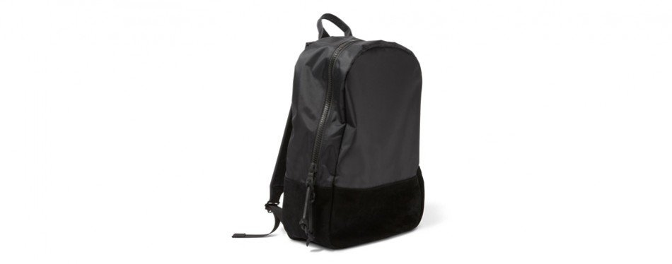 killspencer black nylon backpack