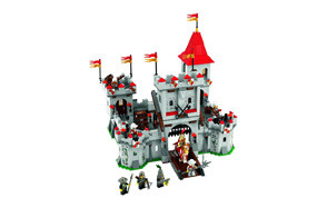 kingdom's king castle lego castle set