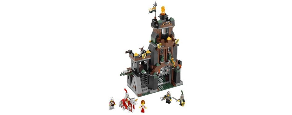 kingdoms prison tower rescue lego castle set