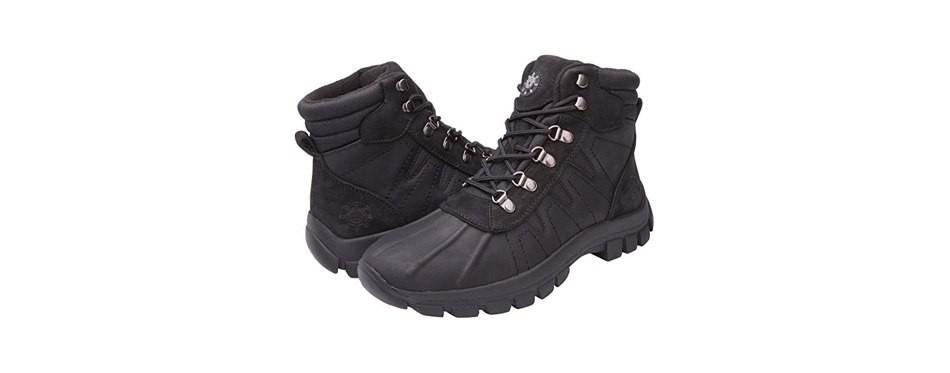 kingshow men's waterproof boots