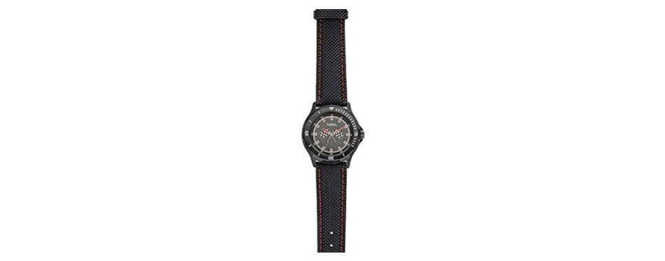 kipling racing boy's quartz watch