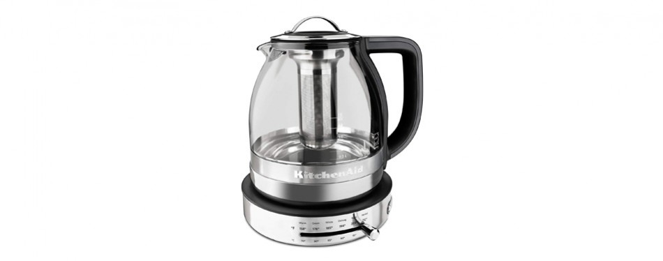 kitchenaid electric glass tea kettle
