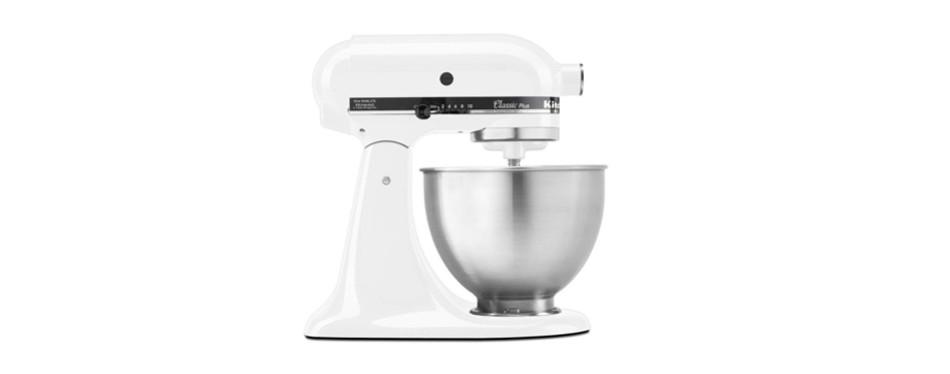 kitchenaid ksm75wh classic plus series