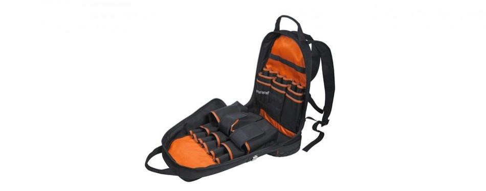 klein tools 55421bp-14 electrician tool backpack