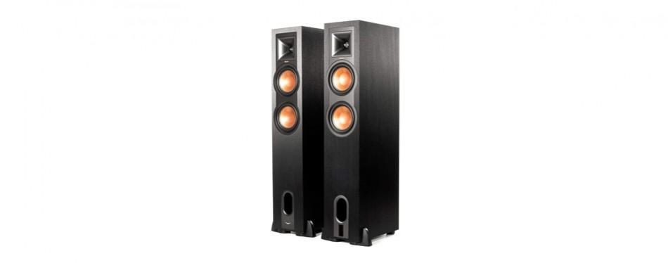 klipsch r-26pf floorstanding home speakers