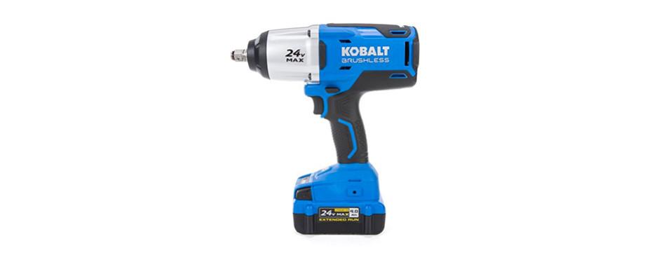 kobalt 1/2 inch 24-volt cordless impact wrench