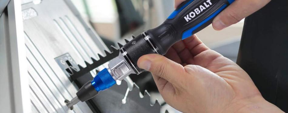 kobalt 35-piece double drive quick load variety screwdriver set