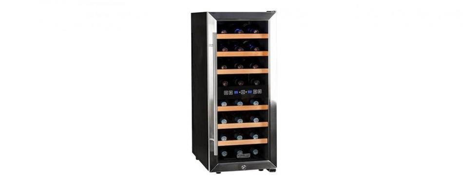 koldfront 24 bottle free standing wine cooler