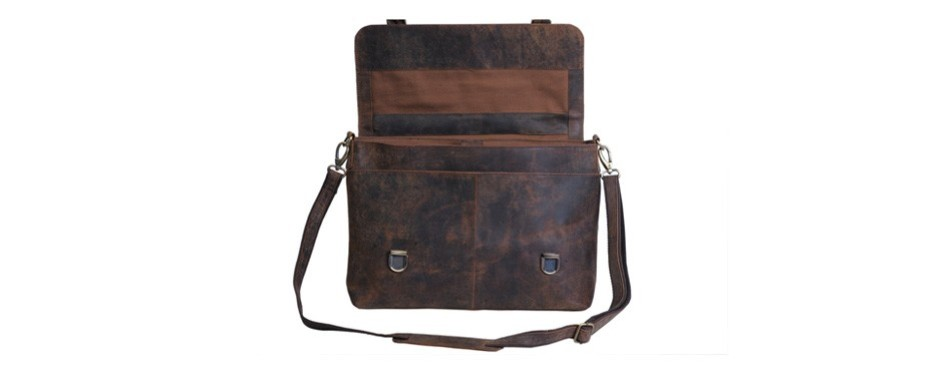 komalc retro buffalo hunter messenger bag