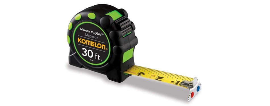 komelon monster maggrip 30-feet tape measure
