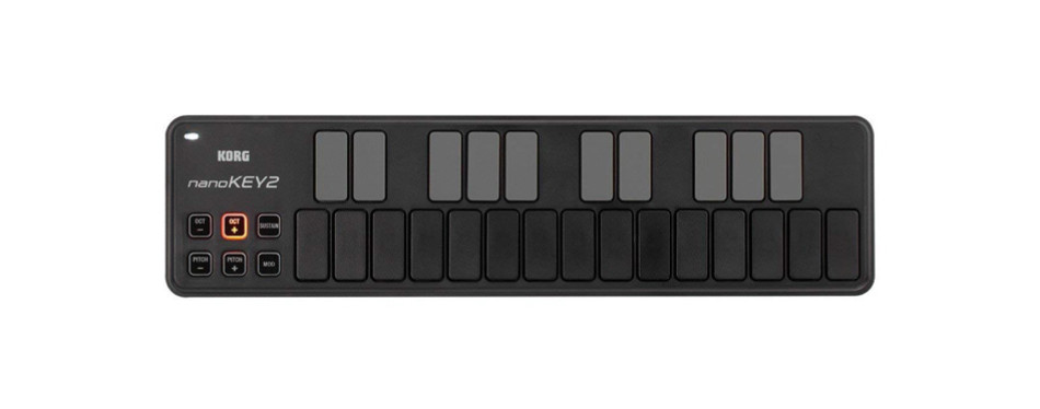 korg nanokey2bk 25-key midi controller