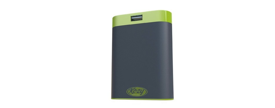 kozy 7800mah rechargeable hand warmer