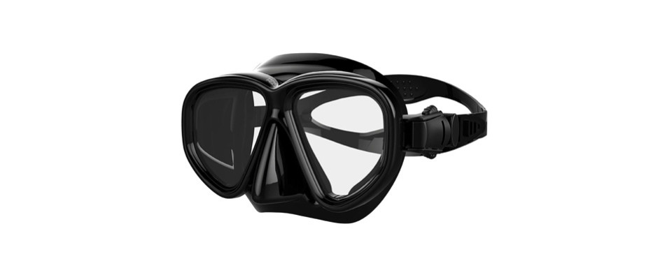 kraken aquatics double lens snorkel mask