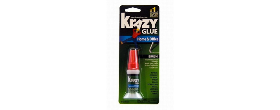 krazy glue kg94548r 5g home and office brush-on