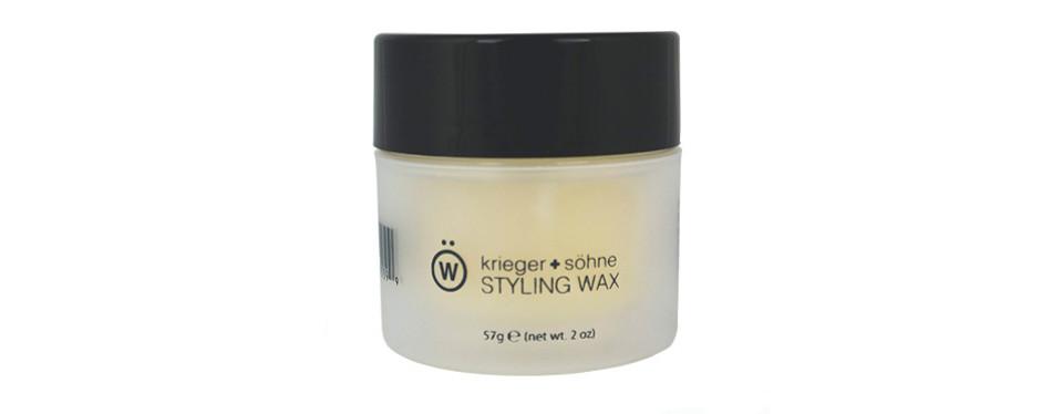 krieger + sohne styling wax