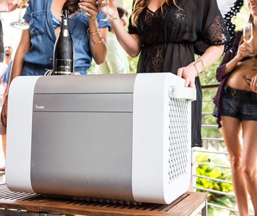kube bluetooth cooler
