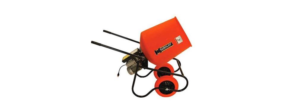kushlan products wheelbarrow cement mixer